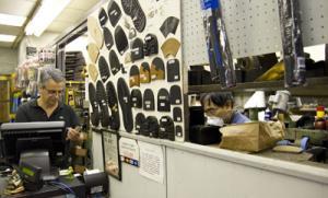 Continental Shoe Repair, photo by Anna Mule