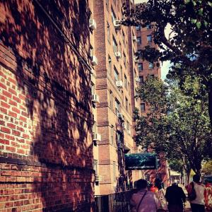 Knickerbocker Village, Cherry Street facade, photo by Molly Garfinkel