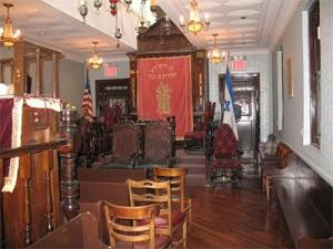 Interior, Kehila Kedosha Janina Synagogue
