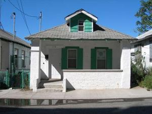 House with green shades, Gordon Chou