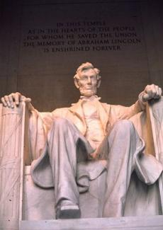 Lincoln Memorial, Lincoln Memorial photo by Jerry Koffler