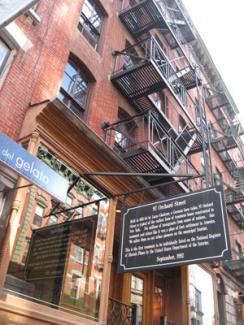 Lower East Side Tenement Museum, exterior, photo by Molly Garfinkel